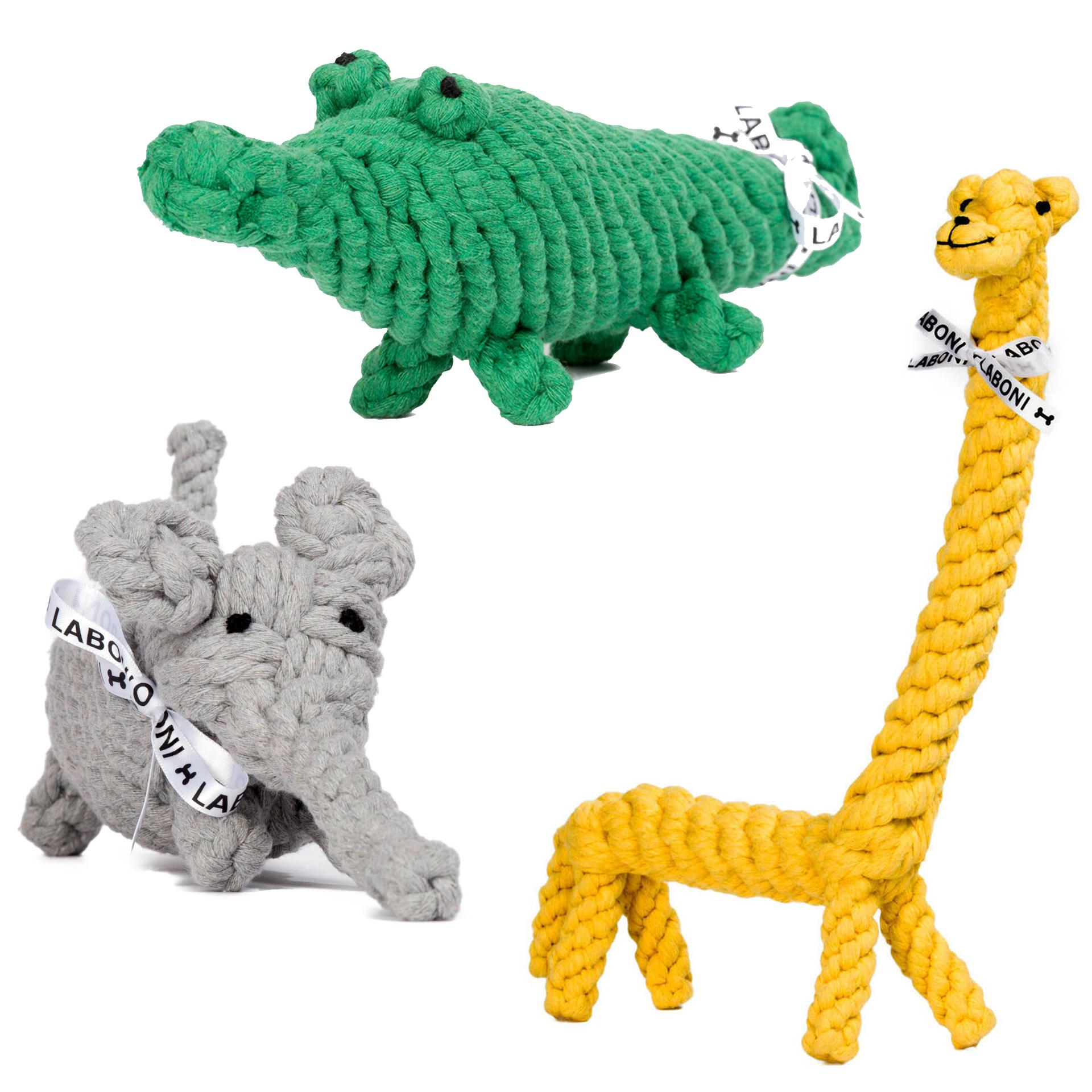 Set Of Dog Stuffed Animals, Wild Life Spielzeug Set Fur Hunde Laboni