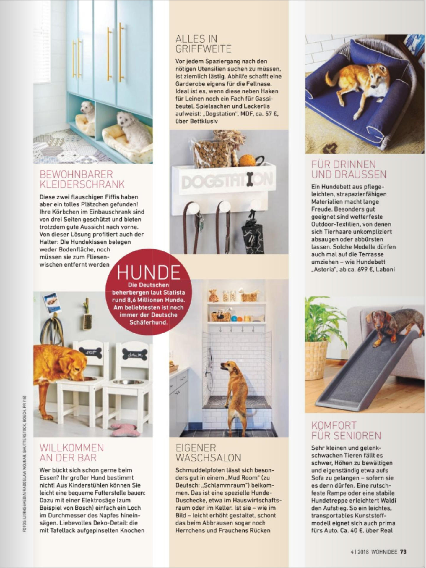 Wohnidee 04 2018 Laboni Design Pure Joy For Dogs And Owners