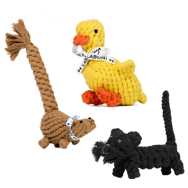 LABONI Farm - Spielzeug-Set für Hunde