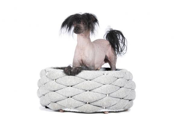 Hundekorb Riva Light-Grey