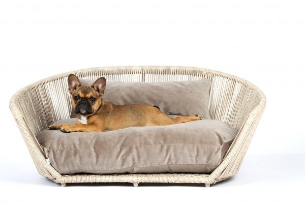 Hundebett Vogue - Velvet Taupe