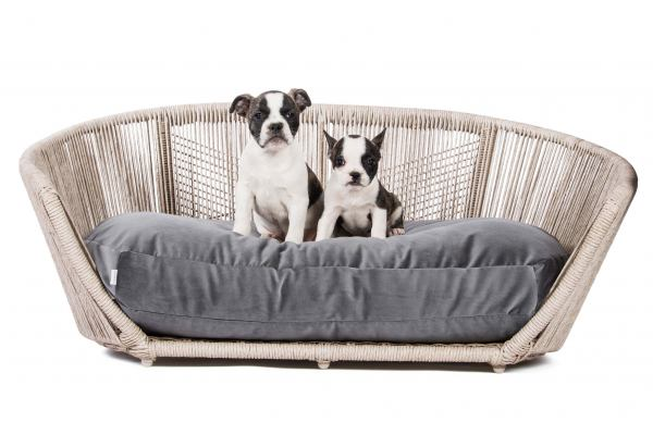 Hundebett Vogue - Velvet Anthrazit